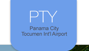 PTY Panama City Tocumen In''l Airport