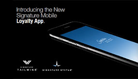 Introducing the New Signature Mobile Loyalty App
