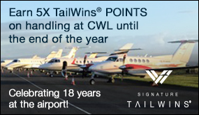 Earn 5X TailWins POINTS on handling at CWL until the end of the year